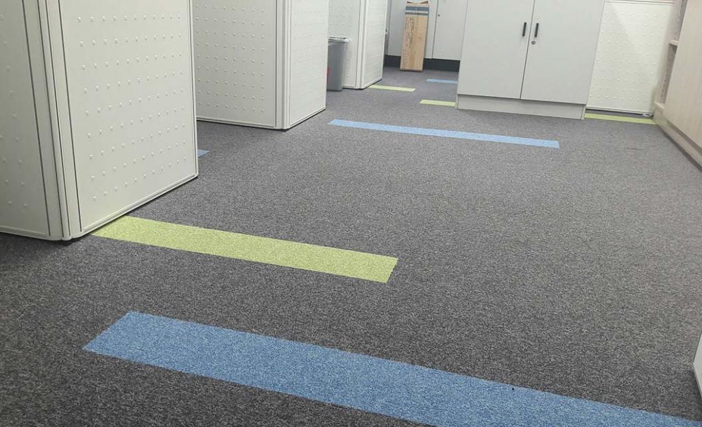 方塊地毯-內湖財金資訊大樓