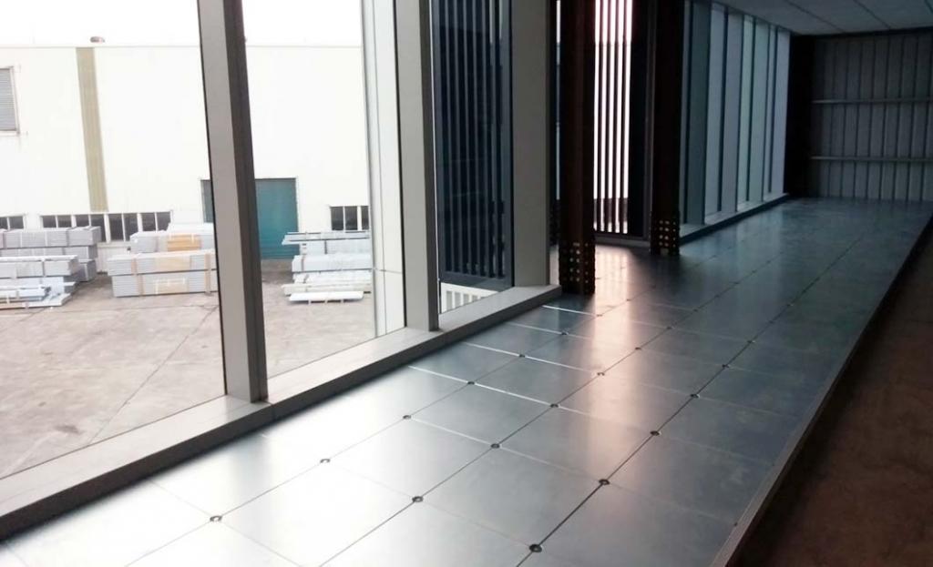 新屋美港高架地板示範